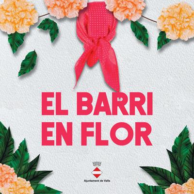 Concurs de decoració de balcons 'Barri en Flor' de Valls, 2021
