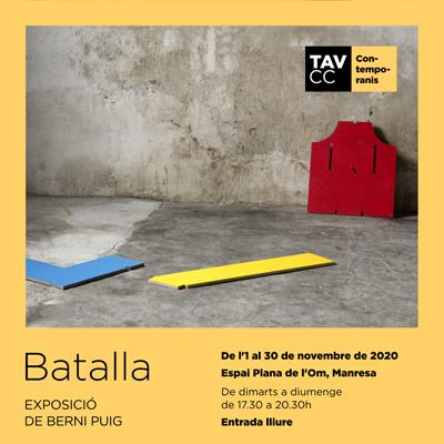 Exposició 'Batalla' de Berni Puig