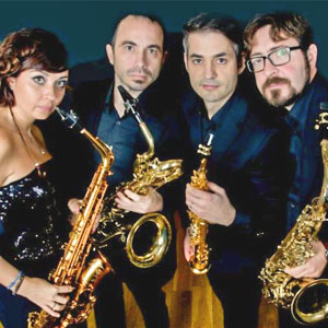 Bcn Sax Quartet, quartet de saxo