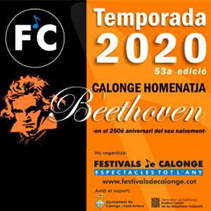 Concert 'Calonge homenatja Beethoven' de Festivals de Calonge, Castell de Calonge, 2020
