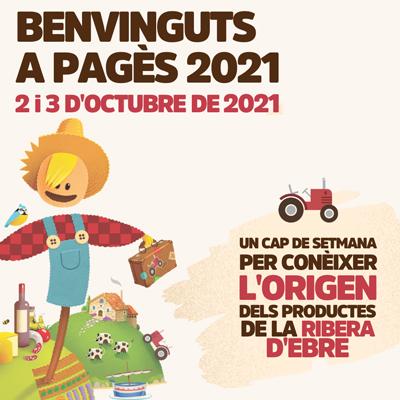 Benvinguts a pagès - Ribera d'Ebre 2021