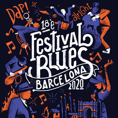 Festival de Blues de Barcelona, Barcelona, 2020