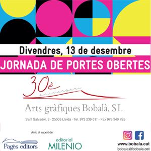 30è aniversari d'Arts Gràfiques Bobalà