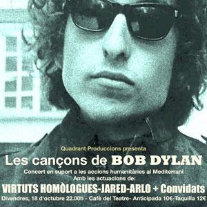 Concert Les Cançons de Bob Dylan al Cafè del Teatre, Lleida, 2019