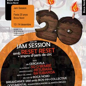 Festa Final #20anysbocanord - Espai Jove Boca Nord Barcelona 2019