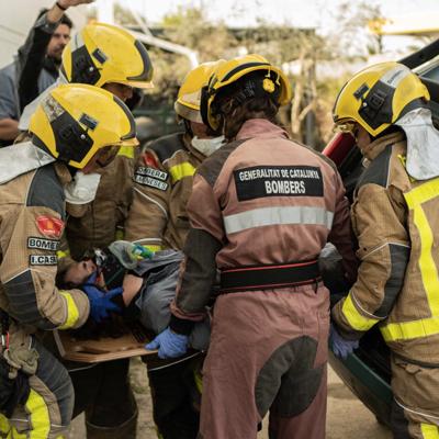 Taula rodona 'Què significa ser bombera?', Bomberes de la Generalitat