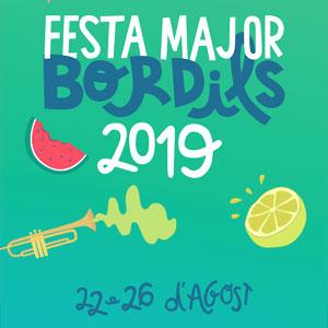 Festa major de Bordils, 2019