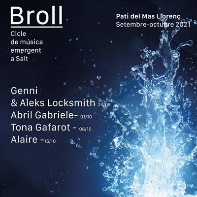 Broll, cicle de música emergent de Salt, 2021