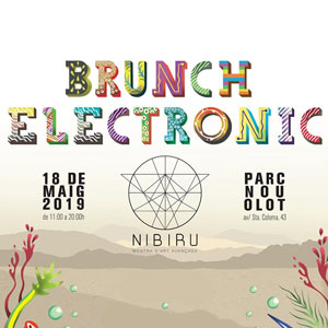 Brunch electrònic, Nibiruf, Olot, 2019