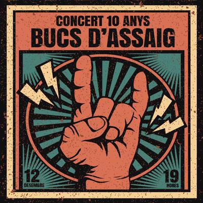 Concert 10 anys dels Bucs d'Assaig, Reus, 2020