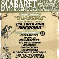 Fragment del cartell del 8é Cabaret d'Arts escèniques de Sort