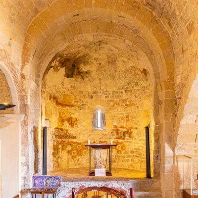 Art romànic al Castell de la Santa Creu - Calafell