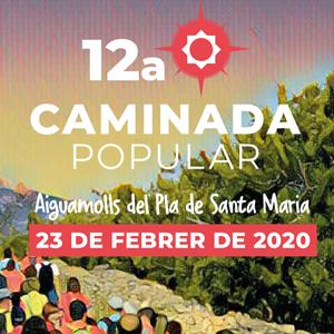 Caminada Popular Solidària a Valls, 2020