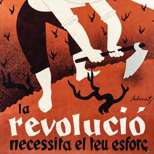 Fragment del cartell 'Camperol!' de Josep Subirats