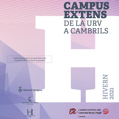 Campus Extens de la URV a Cambrils, Hivern, 2021