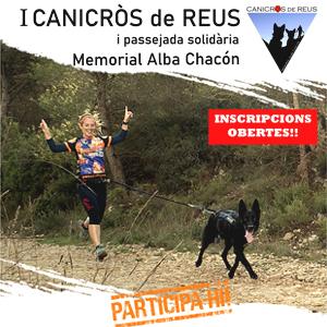 Canicròs i passejada solidària Memorial Alba Chacón, Reus, 2019