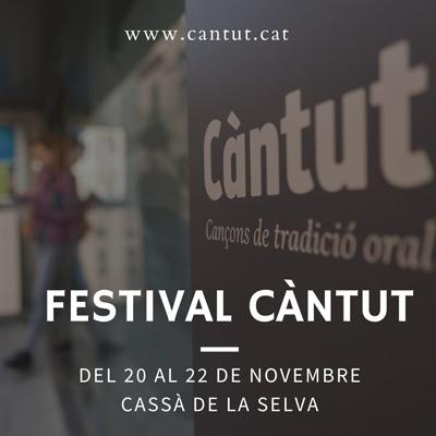Festival Càntut. Cançons de tradició oral, 2020