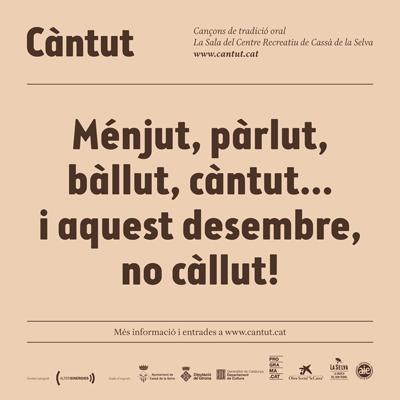 Càntut. Cançons de tradició oral, Festival, 2020