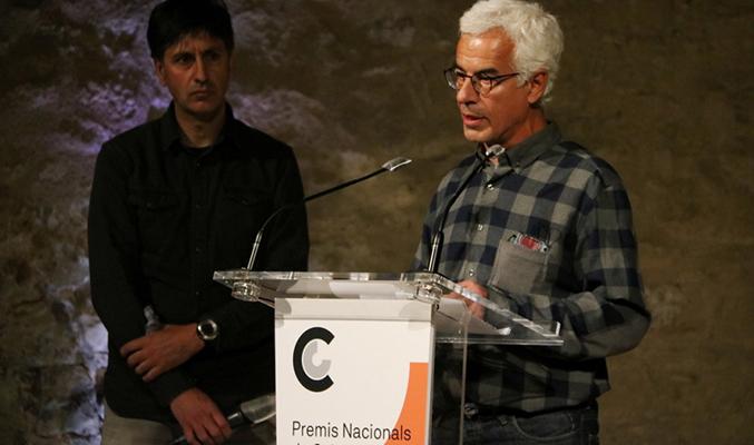 Lluís Llobet, director del Centre d'Arts i Natura de Farrera