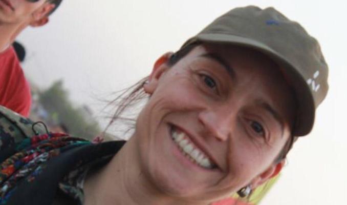 Judit Ramos, brigadista internacional