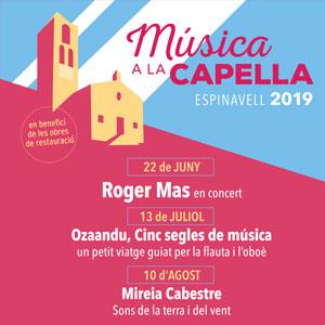 Música a la Capella a Espinavell, 2019