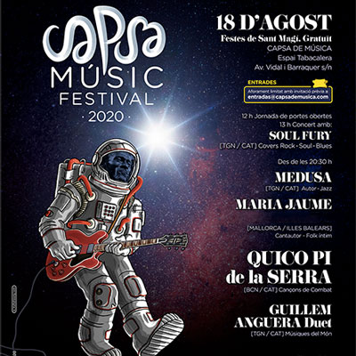 Capsa Music Festival, TArragona, 2020