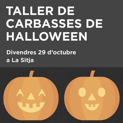 Taller de Carabasses de Halloween a Fornells de la Selva, 2021