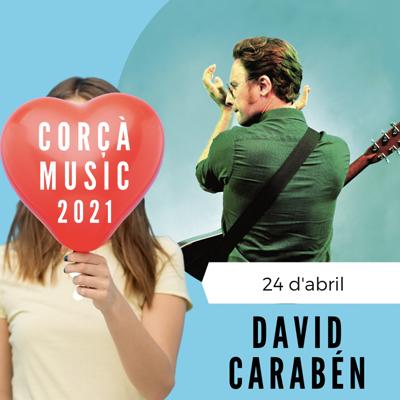Concert de David Carabén al Corçà Music, 2021