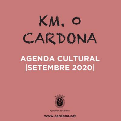 Cardona Km. 0, Agenda Cultural, Cardona, 2020
