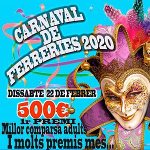 Carnaval a Ferreries (Tortosa) - 2020
