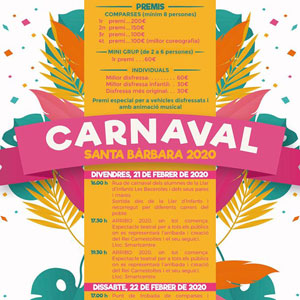Carnaval - Santa Bàrbara 2020