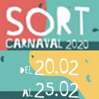 Fragment del cartell del Carnaval de Sort 2020