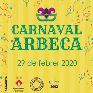 Carnaval d'Arbeca, 2020