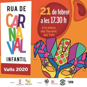 Carnaval Infantil de Valls, 2020