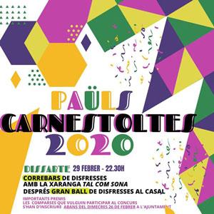 Carnestoltes - Paüls 2020