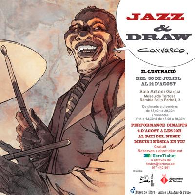 Exposició 'Jazz & Draw'