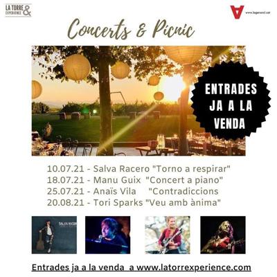 Concerts & Pícnic - La Torre del Gall 2021
