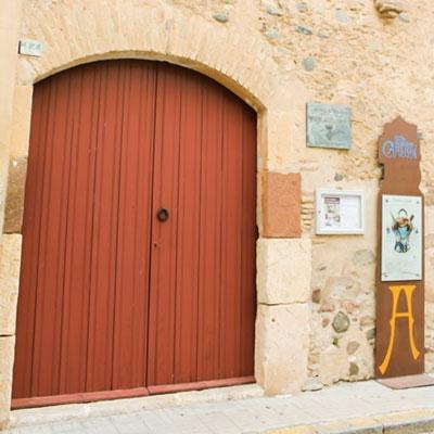 Visita guiada, Casa Pairal, Antoni Gaudí, Riudoms, 2020