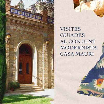 Visita guiada al conjunt modernista Casa Mauri, La pobla de Segur, 2020