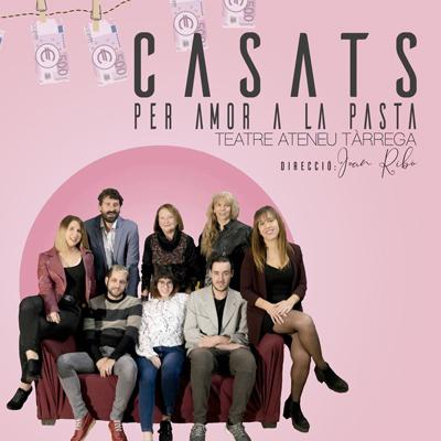 Teatre 'Casats per amor a la pasta' del Grup de Teatre Bat