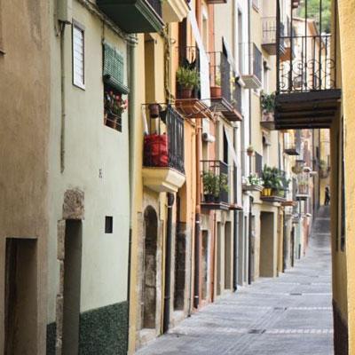 Visita guiada a la jueria: el barri d'Astruga Deuslosalv, Balaguer, Carrer