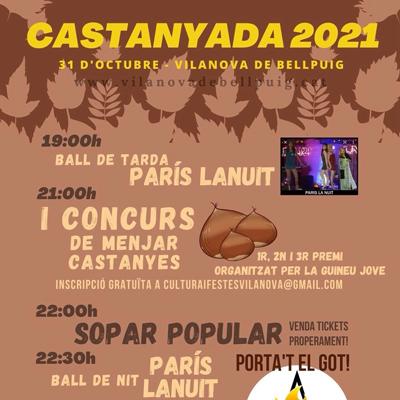 Castanyada - Vilanova de Bellpuig 2021