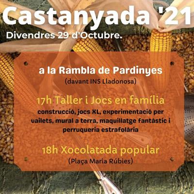 Castanyada a Pardinyes, Lleida, 2021
