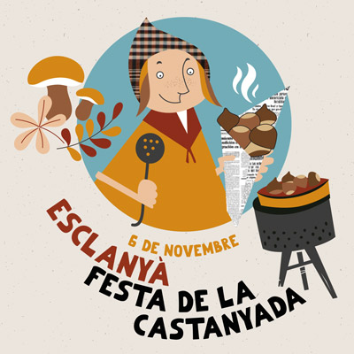 Festa de la Castanyada d'Esclanyà, Begur, 2021