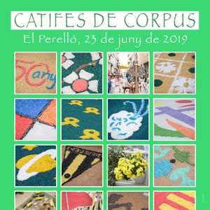 Catifes de Corpus - El Perelló 2019