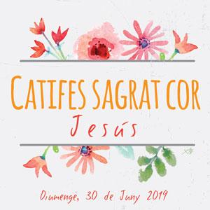 Catifes del Sagrat Cor - Jesús 2019