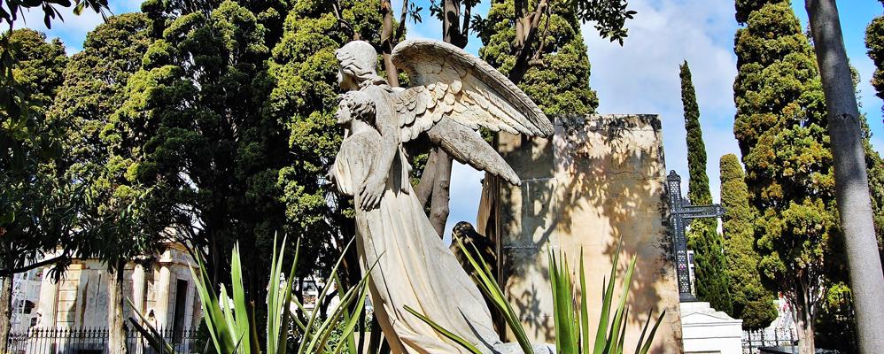 El cementiri de Sant Sebastià de Sitges