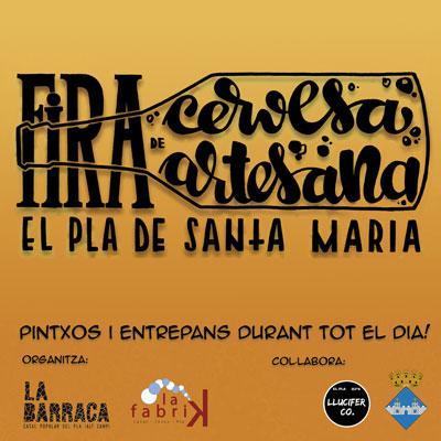 Fira de la Cervesa Artesana del Pla de Santa Maria, 2020