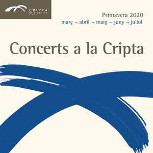Concerts de la Cripta, Cicle, Concerts, Cripta de l'Ermita, Cambrils, 2020