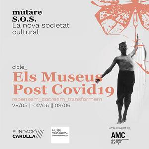 Xerrada 'Mutare SOS', Fundació Carulla, Museu de la Vida Rural i Associació de Museòlegs de Catalunya